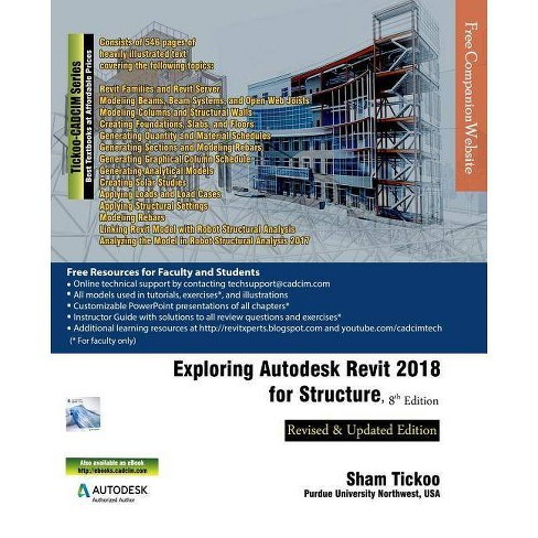 Exploring Autodesk Revit 2018 for Structure - by Prof Sham Tickoo Purdue  Univ (Paperback)