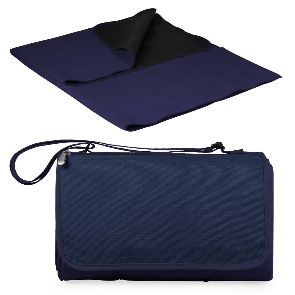 Image of Picnic Time Blanket Tote - Navy, Blue