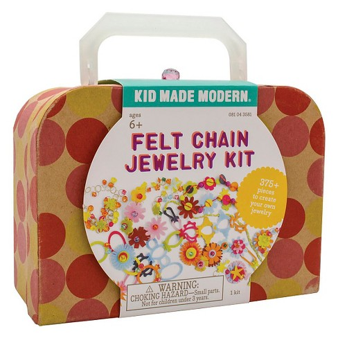 Kid Made Modern Felt Chain Jewelry Kit - image 1 of 3