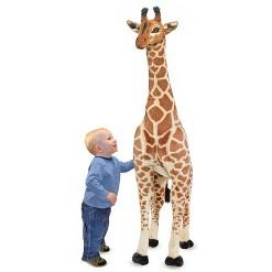 Melissa & Doug Giant Giraffe - Lifelike Stuffed Animal