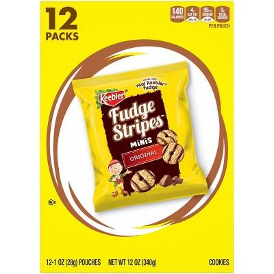 Keebler Fudge Stripes Minis Original Cookies - 12ct