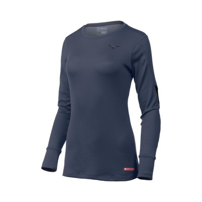 Mizuno Women's Breath Thermo Base Layer Long Sleeve Running Shirt