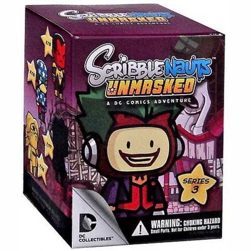 Scribblenauts UnMasked Blind Box Mini Figure DC Collectibles