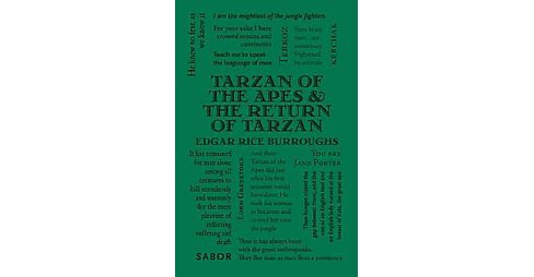 Tarzan of the Apes & The Return of Tarzan (Paperback) (Edgar Rice Burroughs) - image 1 of 1