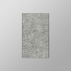 Herringbone Outdoor Rug Black - Threshold™