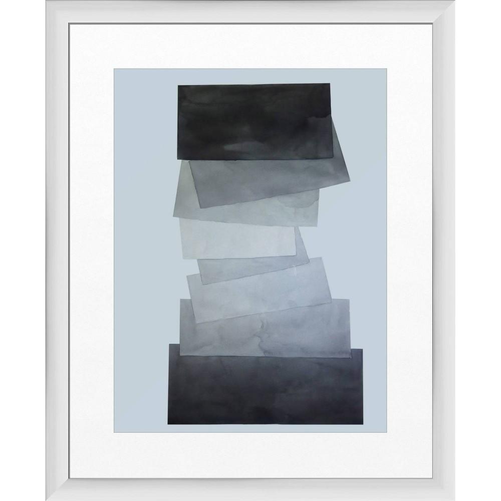 18 34 X 22 34 Minimal Framed Wall Art White Ptm Images