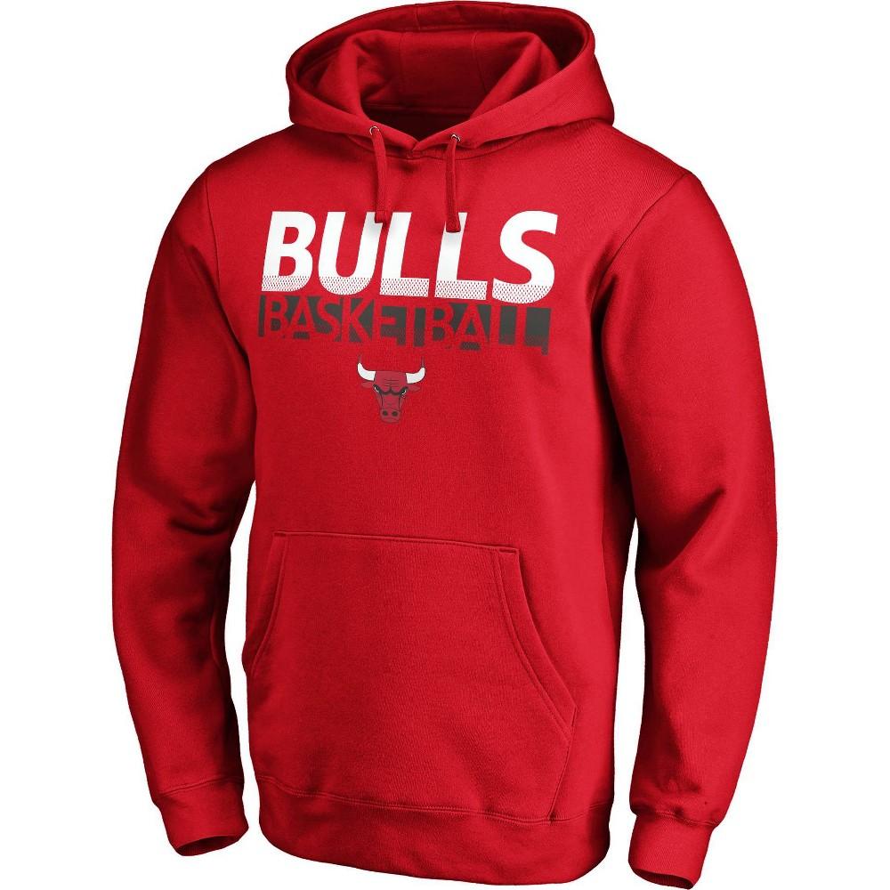 Nba Chicago Bulls Men 39 S Fleece Hoodie L