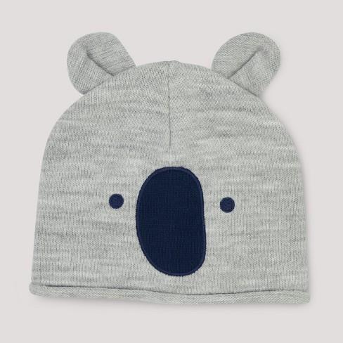 Baby Boys  Koala Hat - Cloud Island™ Gray Newborn   Target c831b9dc4ce
