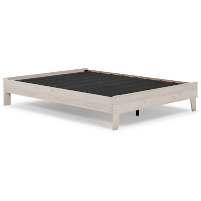 Socalle Platform Bed Natural - Signature Design by Ashley