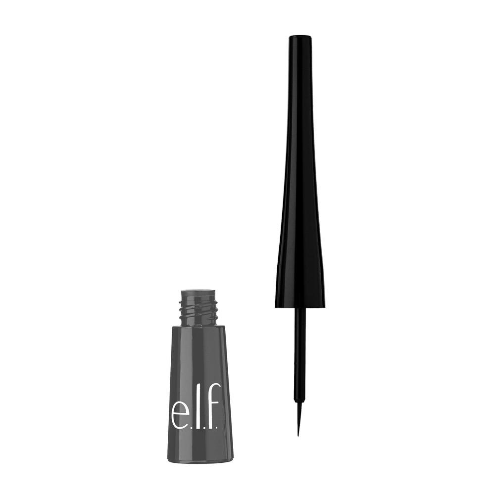 E L F Expert Liquid Liner Charcoal 0 15 Fl Oz