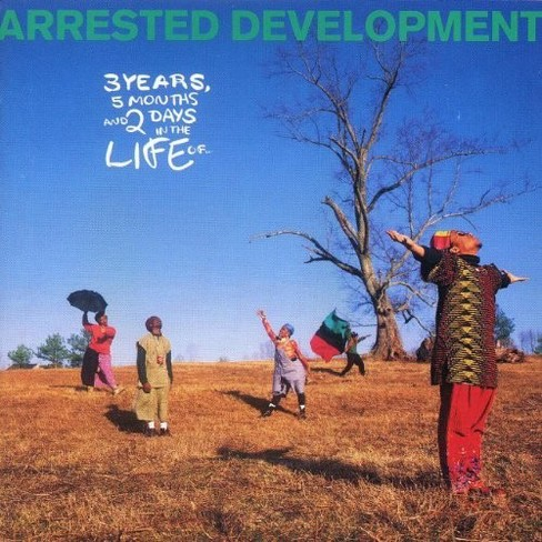 Arrested Development - 3 Years 5 Months & 2 Days In The Life (Vinyl) - image 1 of 1