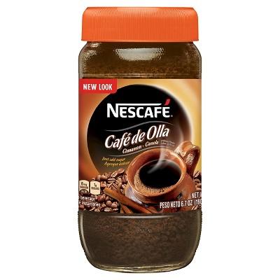 Nescafe Café de Olla Cinnamon Instant Light Roast Coffee - 6.7 Ounce