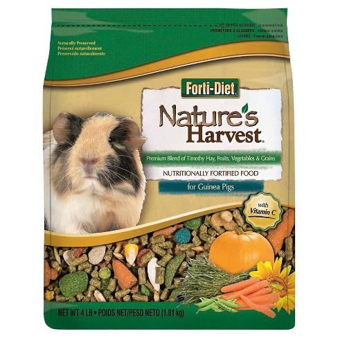 Kaytee Nature's Harvest Guinea Pig Small Animal Food - 4lbs - image 1 of 4
