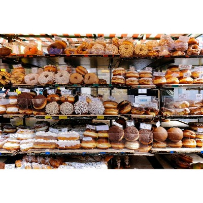 Toynk Donut Shop Bakery Puzzle For Adults And Kids | 1000 Piece Jigsaw Puzzle
