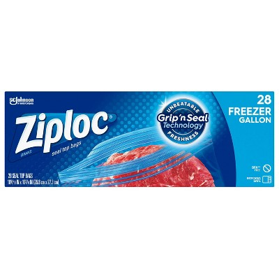 Ziploc Freezer Gallon Bags