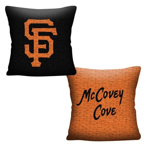 MLB San Francisco Giants Inverted Woven Pillow - image 1 of 4