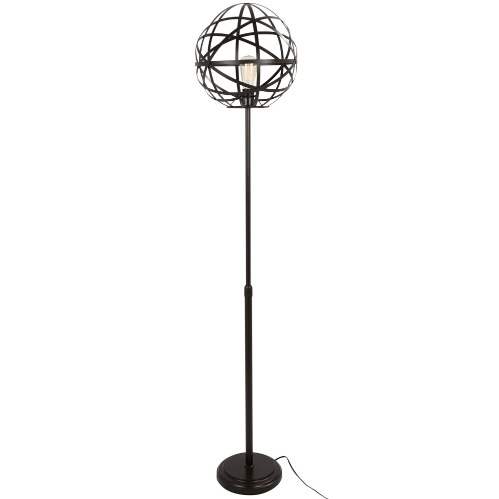 Linx Industrial Floor Lamp Antique (Lamp Only) - Lumisource, Java Brown