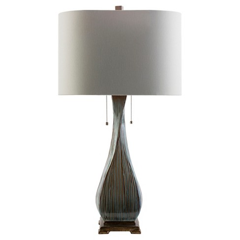 Camillo Table Lamp Brown (Lamp Only) - Surya - image 1 of 2