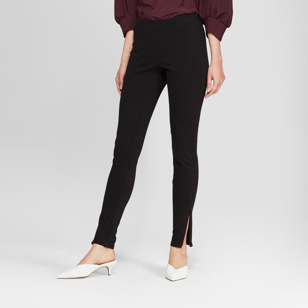 Women's High-Rise Leggings with Zipper - Prologue Black XL