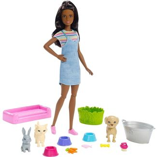 Barbie Play 'n' Wash Pets Nikki Doll and Playset