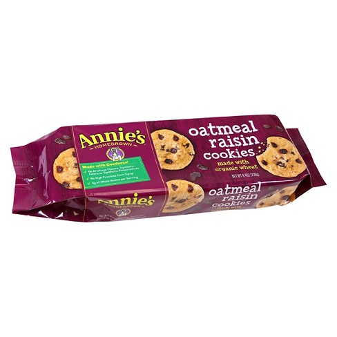 Annie's Tray Cookies Oatmeal Raisin 8.4OZ - image 1 of 1