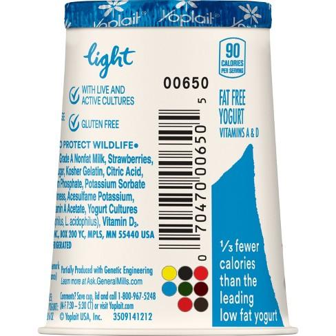 Yoplait Light Strawberry Yogurt - 6oz