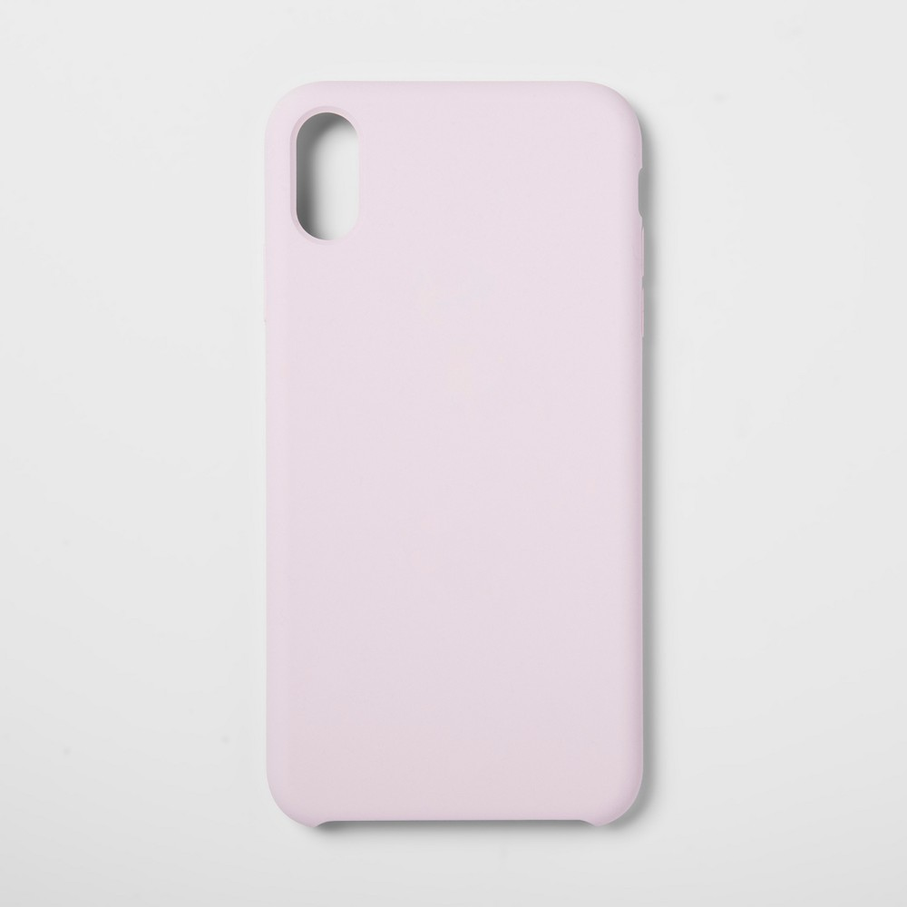 heyday Apple iPhone XS Max Silicone Case - Pink