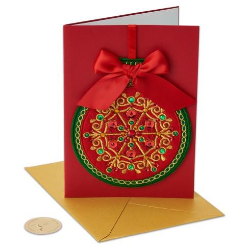 Papyrus Hangable Felt Ornament Greeting Card Target