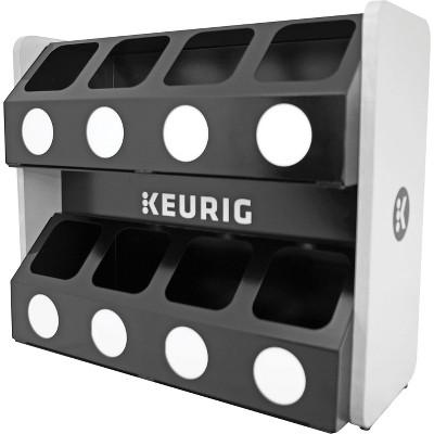 Keurig Premium K-Cup Pod Storage Rack 8 Sleeve 611247376621
