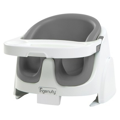 Ingenuity Baby Base 2-in-1 Booster Seat - Slate Gray