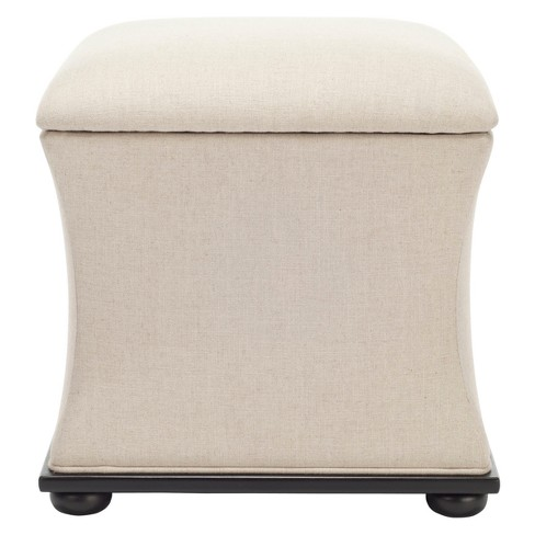 Storage Ottomans Beige - Safavieh - image 1 of 3