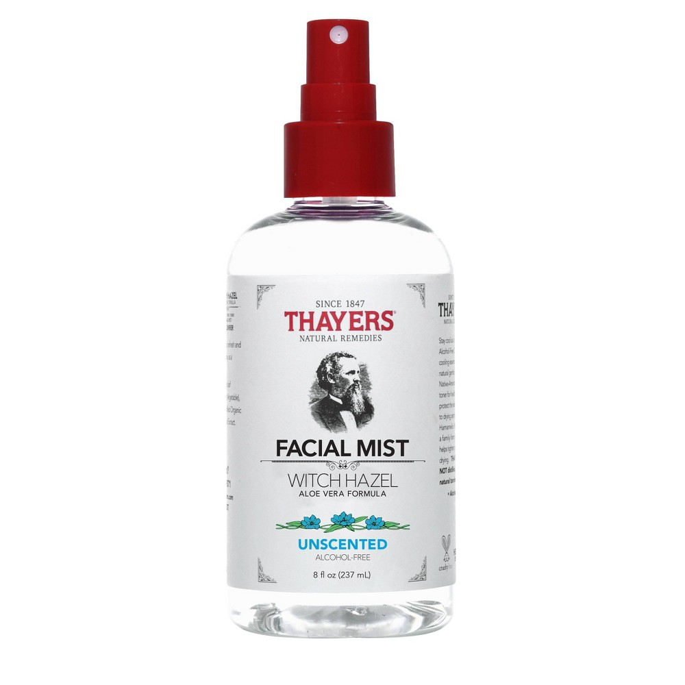 Image of Thayers Alcohol-Free Unscented Witch Hazel Facial Mist Toner - 8oz