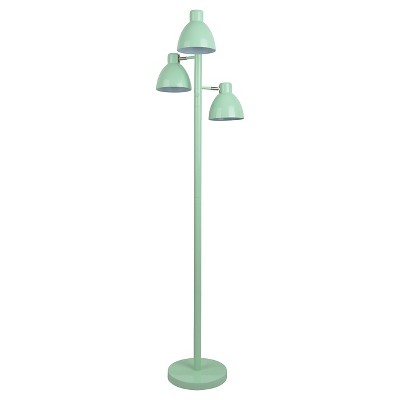 Mint Three Head Task Floor Lamp - Pillowfort™