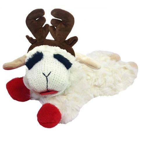 Multipet Lamb Chop Reindeer Dog Toy - image 1 of 2