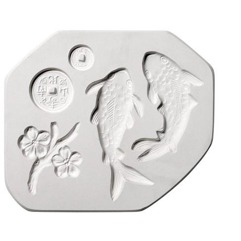 AMACO Koi Sprig Mold, 12 x 6-3/4 Inches - image 1 of 2