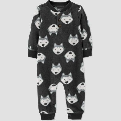 Baby Boys' Jumpsuit - Just One You® made by carter's Gray