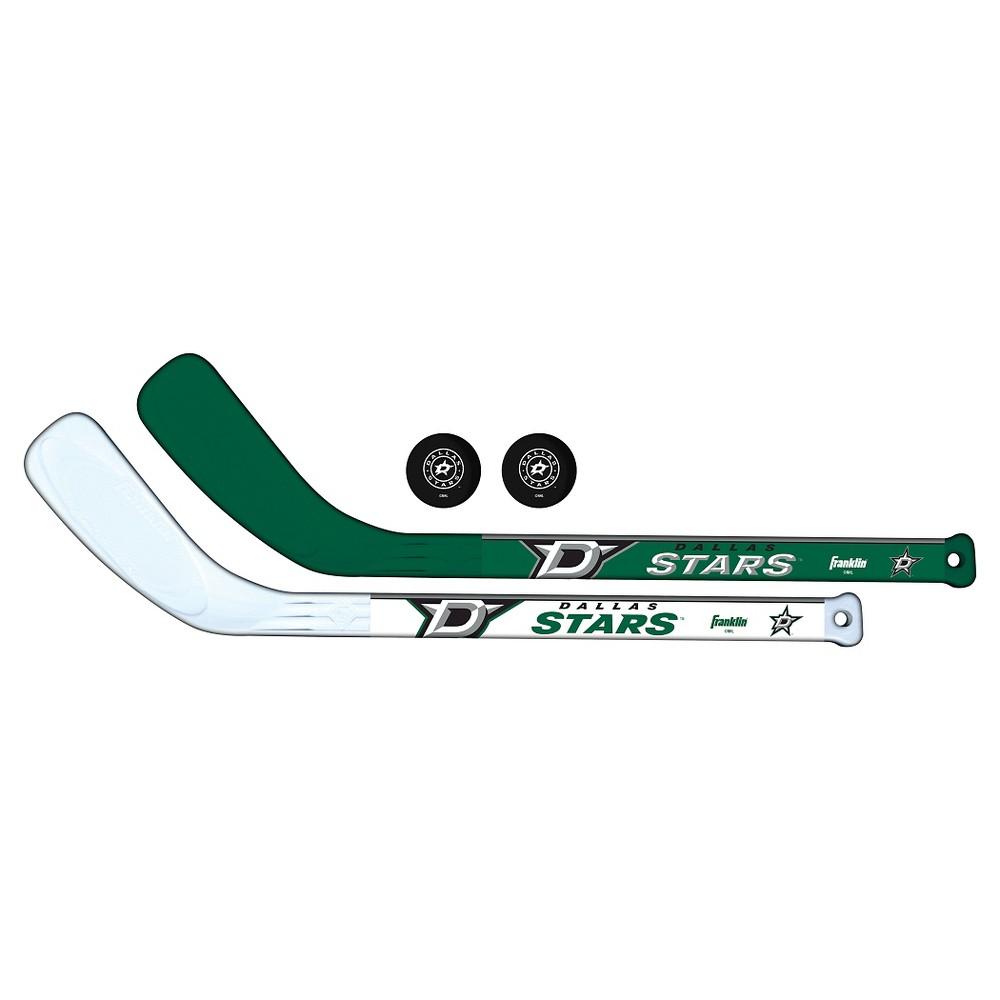 Franklin Sports Nhl Dallas Stars Mini Player Stick Set