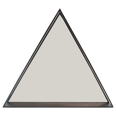 Triangle Mirror With Shelf Black - Project 62™