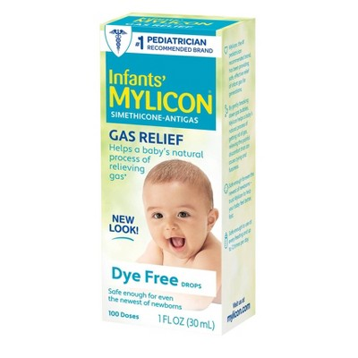 Mylicon Infant Gas Relief Colic Dye Free Drops - 1 fl oz