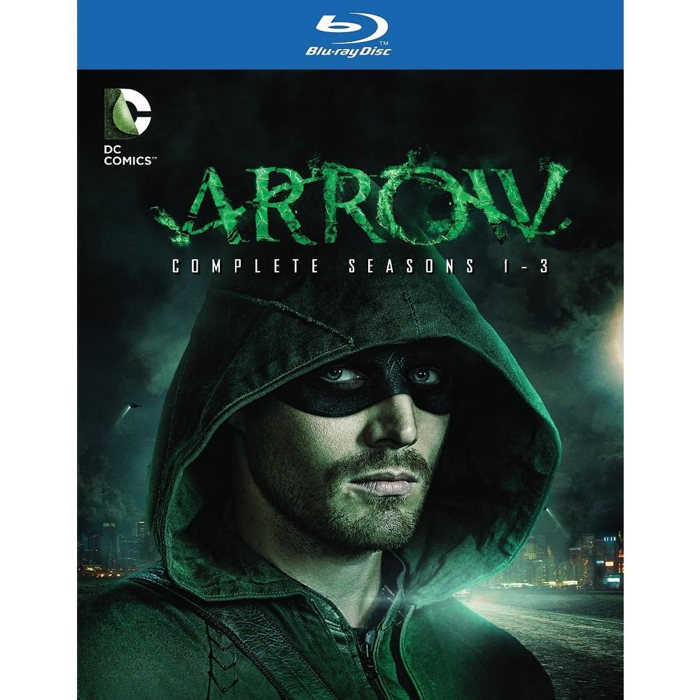 Arrow:Seasons 1-3 (Blu-ray)