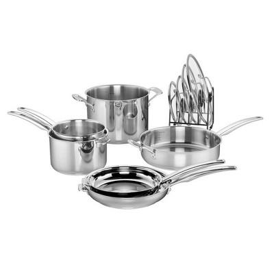 Cuisinart SmartNest 11pc Stainless Steel Cookware Set - N91-11T