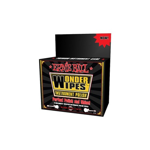 Ernie Ball Wonder Wipe Instrument Polish 6-pack - image 1 of 1
