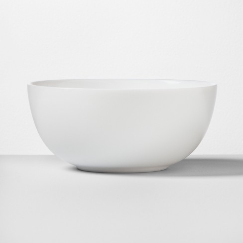 Glass Bowl 16oz White - Made By Design™ - image 1 of 4