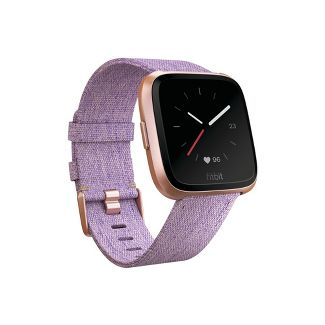 Fitbit Versa Smartwatch with Small & Large Bands Special Edition - Lavender Woven