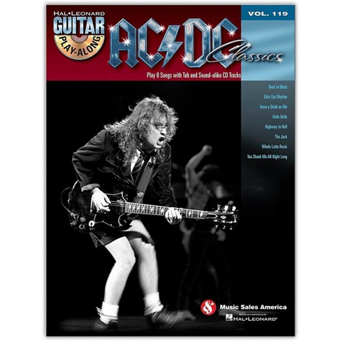 Hal Leonard AC/DC Classics - Guitar Play-Along Volume 119 (Book/Online Audio) - image 1 of 1