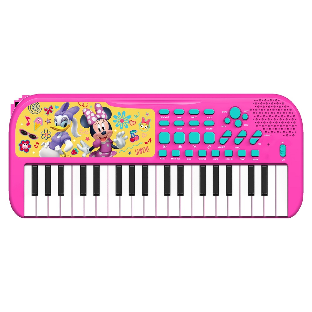 Minnie Mouse Keyboard, Toy Pianos and Keyboards