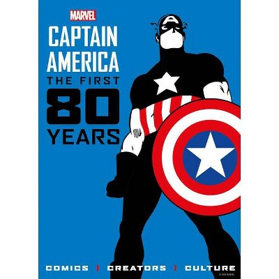 Marvel's Captain America: The First 80 Years - by  Titan Comics (Hardcover)
