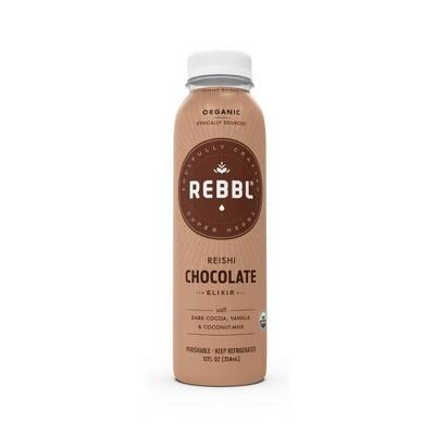 REBBL Organic Reishi Chocolate Immunity Elixir - 12 fl oz