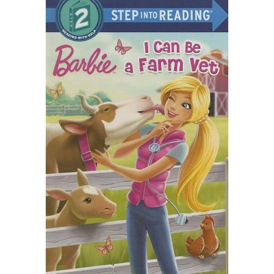 I Can Be a Farm Vet (Barbie) - (Step Into Reading) by  Apple Jordan (Paperback)