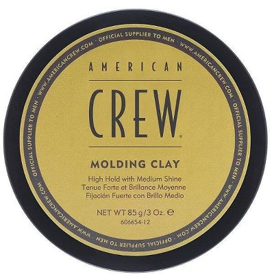 American Crew Hair Molding Clay Hair Styling for Men - 3oz